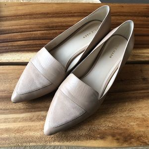 Classic Beige Pointed Flats